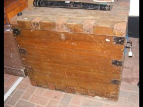 Antique silver chest - for restoration