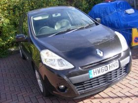 SOLD ON BEHALF OF THE ISLE OF WIGHT COUNCIL - A Renault Clio Expression