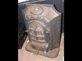 A cast metal fire - 70cm high