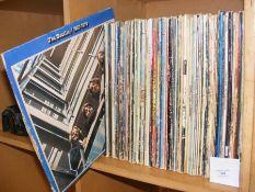 Vintage LP's including The Beatles 1967-1970