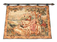 """A FRENCH """"THE ROYAL HUNT TAPESTRY"""" by Marc Waymel - created exclusively for The Franklin Mint,"""