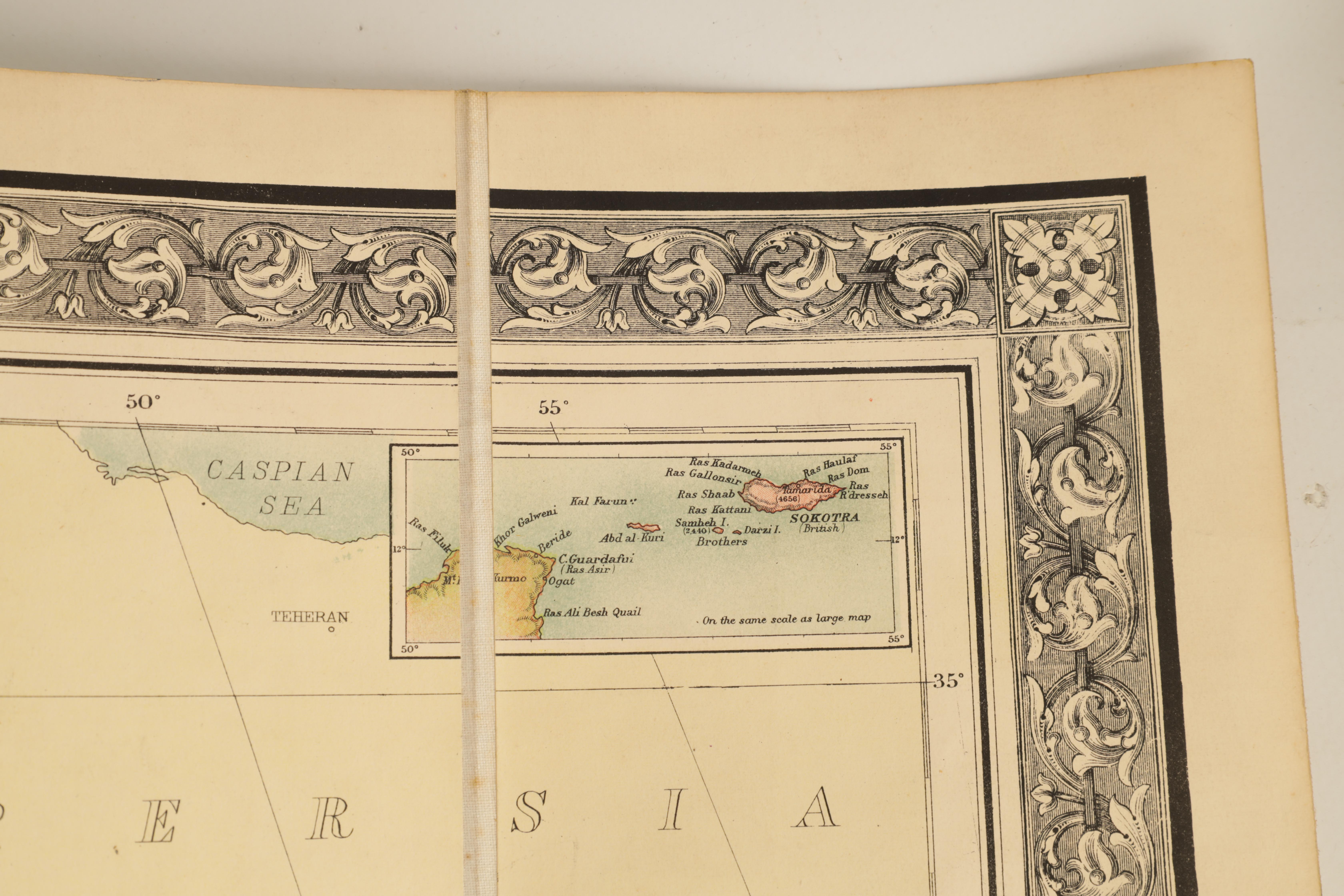 A STANFORDS MAP OF AFRICA - Image 6 of 9