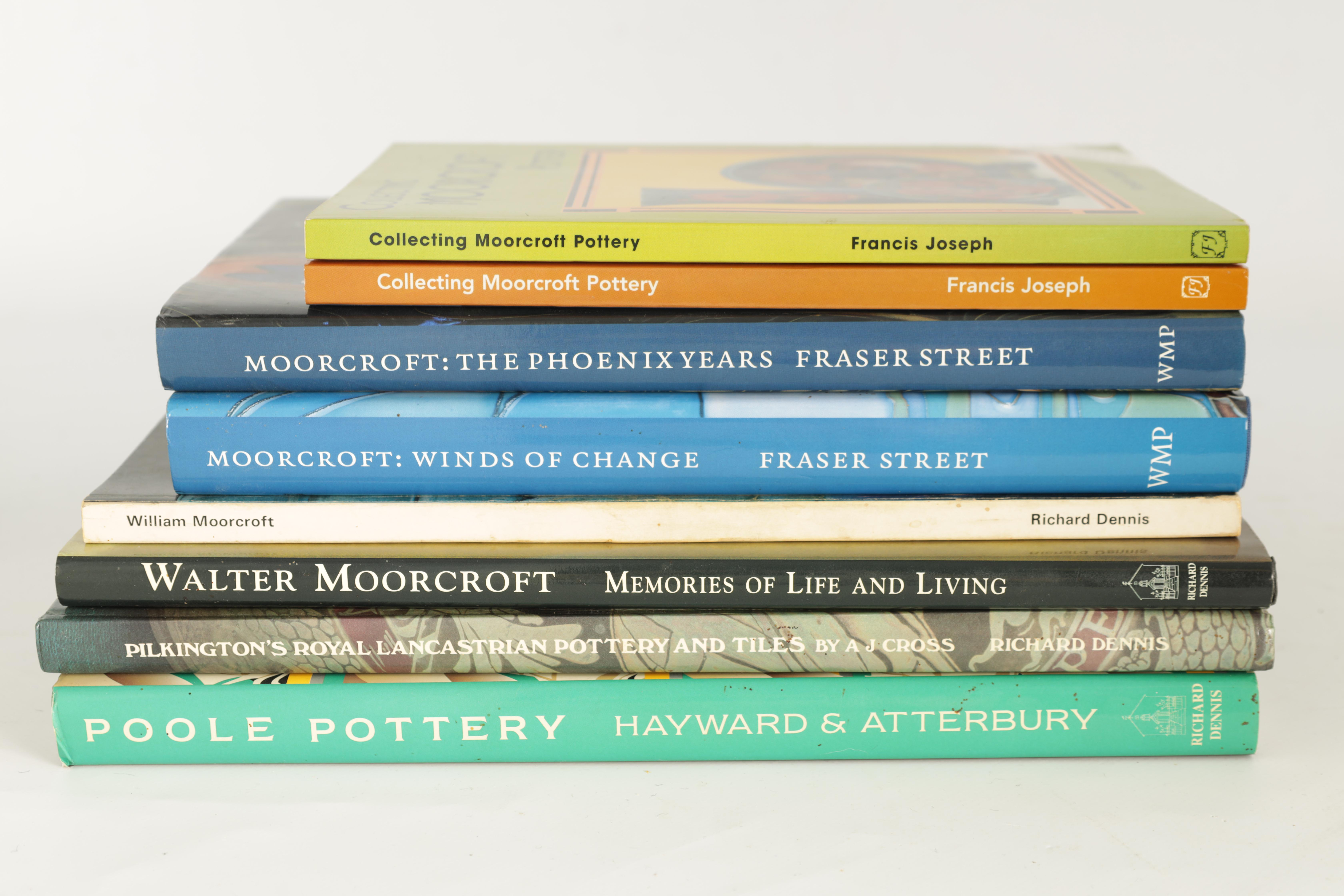 A COLLECTION OF EIGHT CERAMIC REFERENCE BOOKS including Poole pottery by Lesley Haward edited by - Image 9 of 9