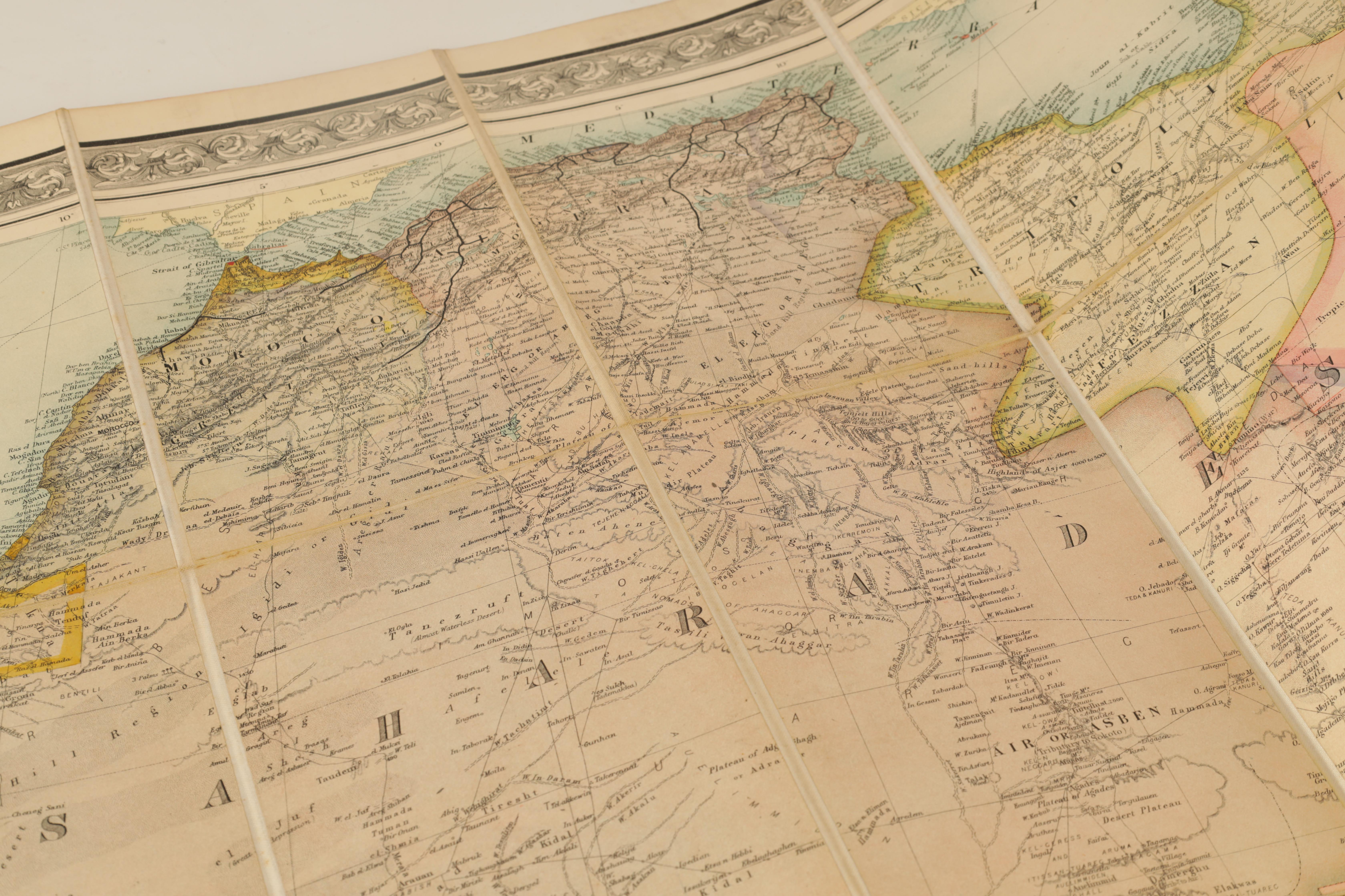 A STANFORDS MAP OF AFRICA - Image 7 of 9