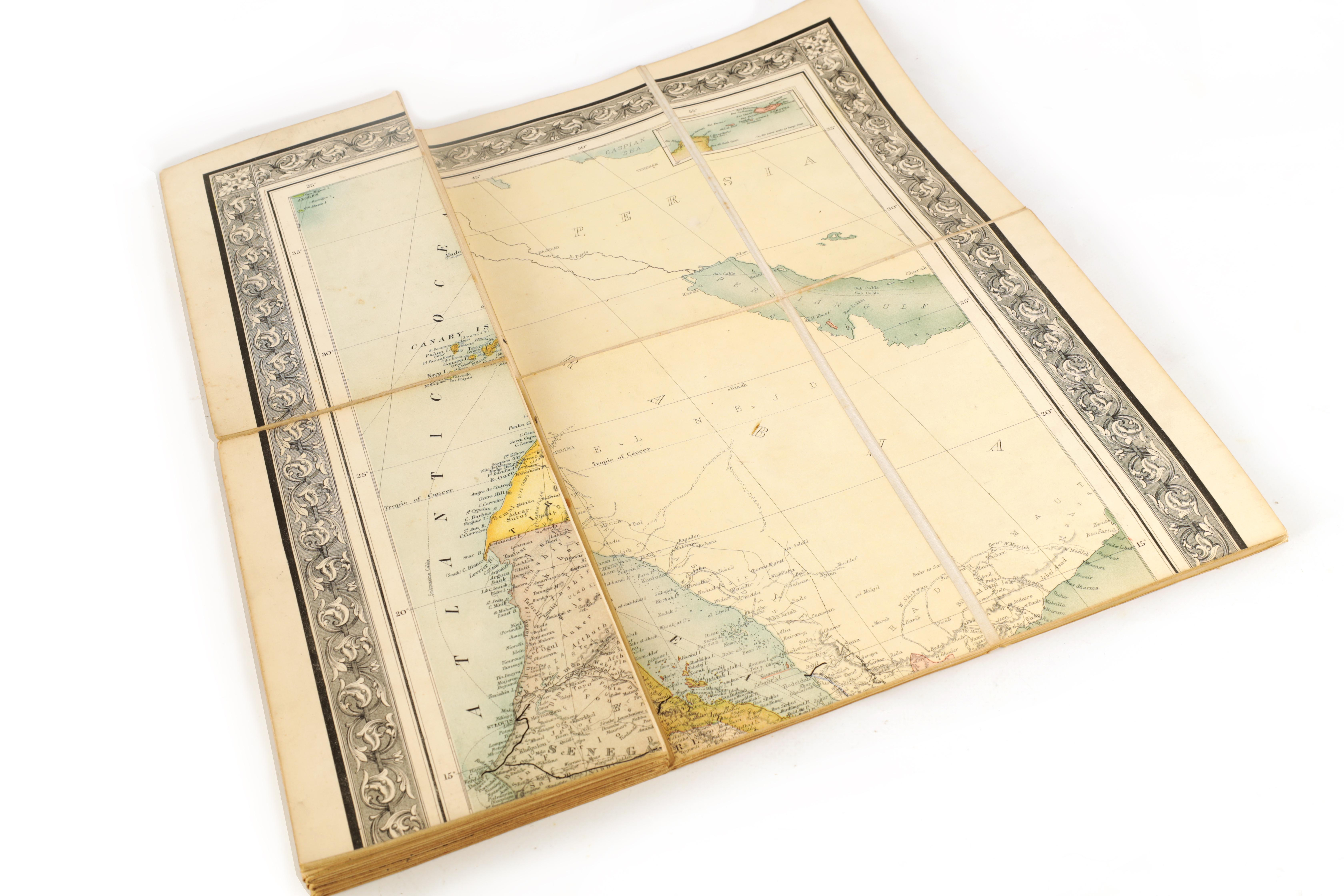 A STANFORDS MAP OF AFRICA