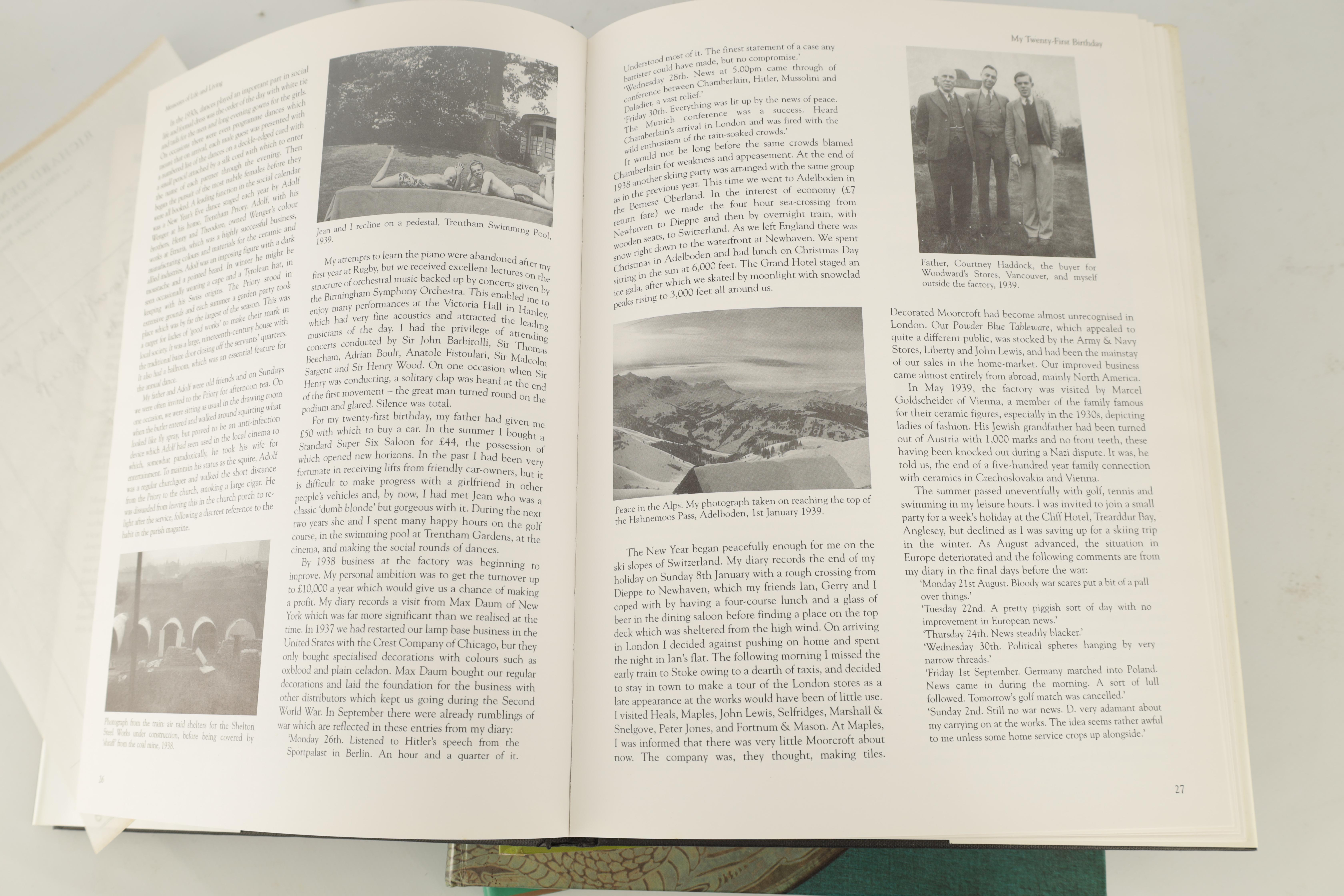 A COLLECTION OF EIGHT CERAMIC REFERENCE BOOKS including Poole pottery by Lesley Haward edited by - Image 6 of 9