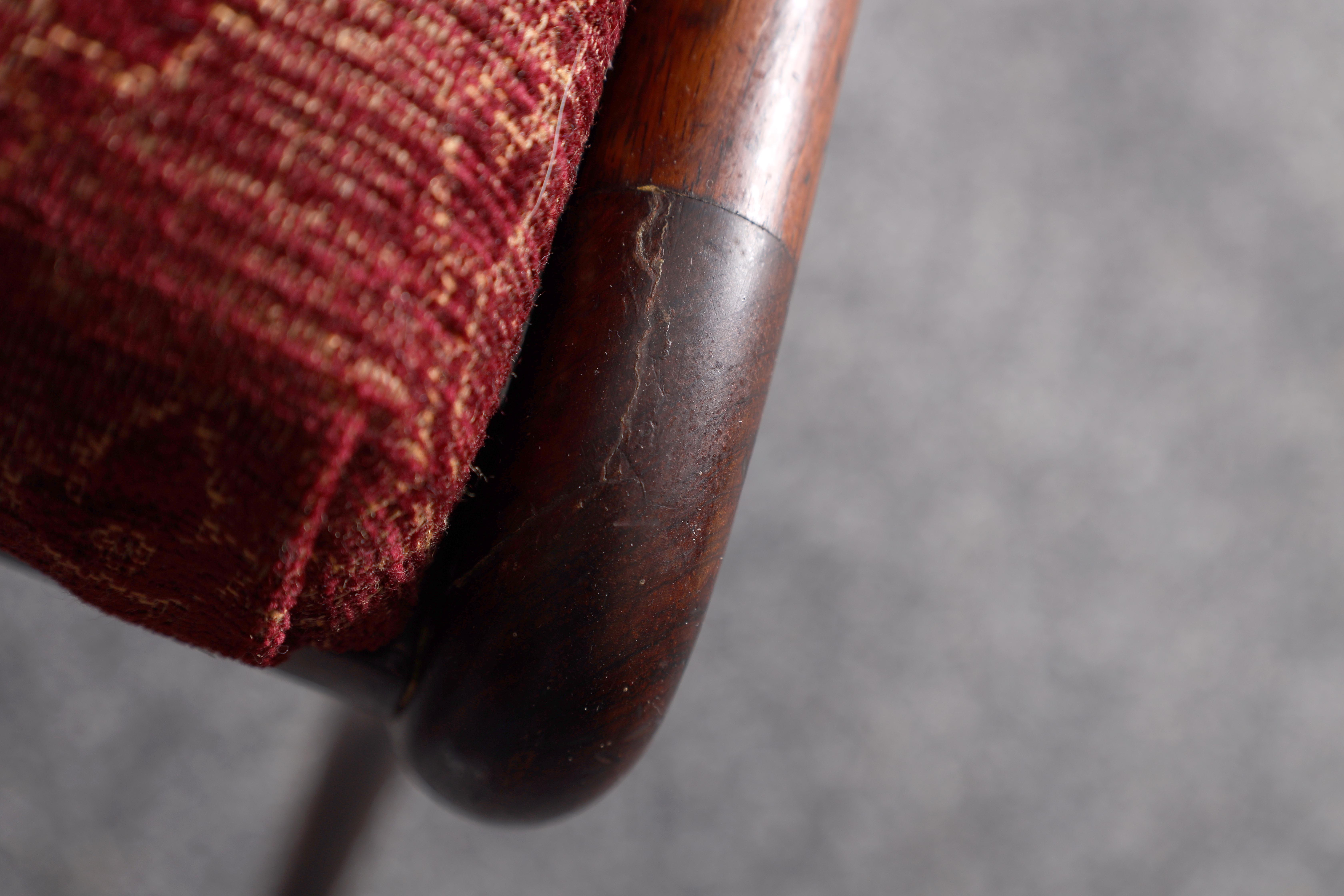 A SET OF EIGHT REGENCY ROSEWOOD DINING CHAIRS having gadrooned back splats and carved stretchers, - Image 8 of 8