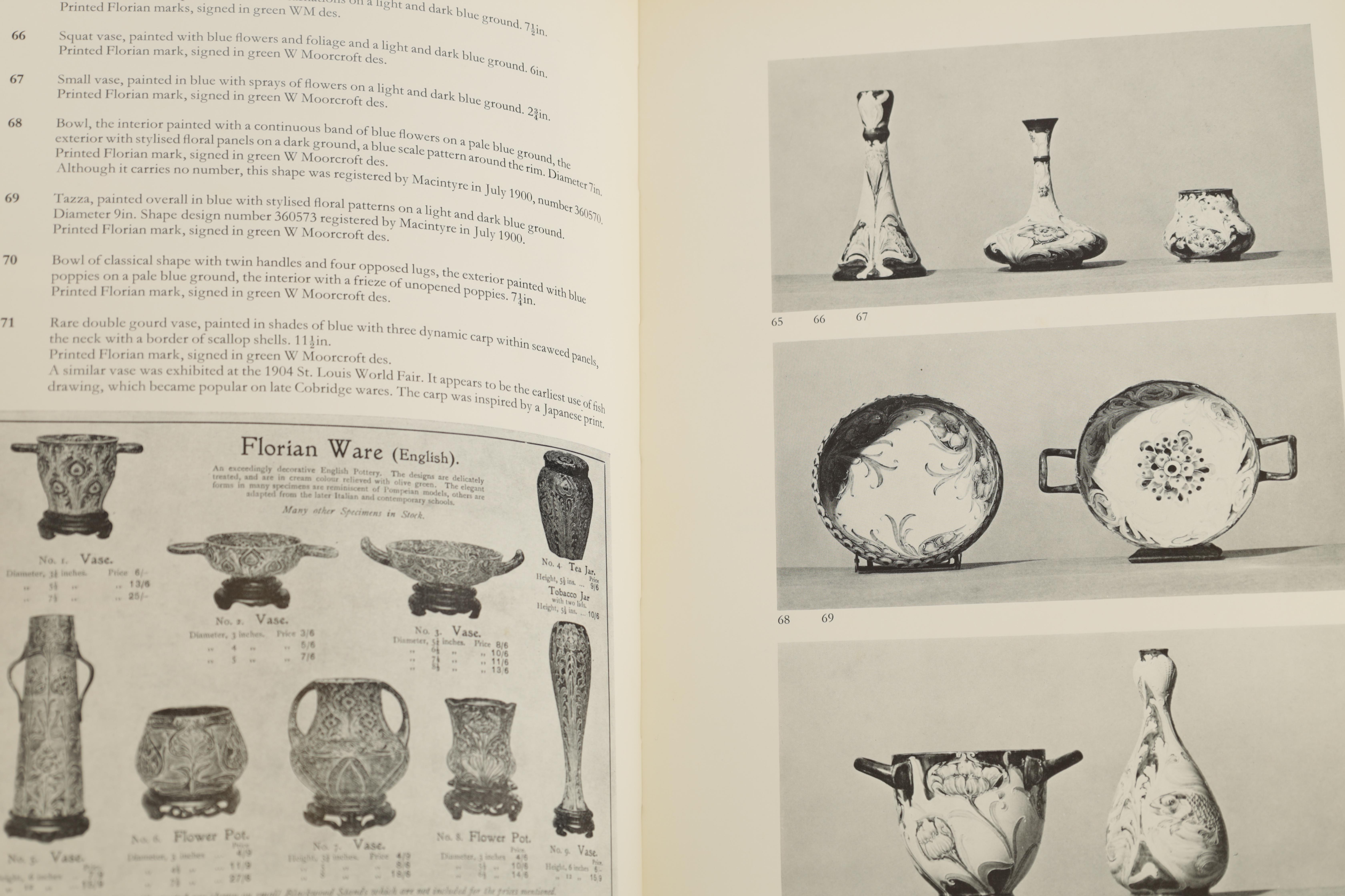 A COLLECTION OF EIGHT CERAMIC REFERENCE BOOKS including Poole pottery by Lesley Haward edited by - Image 8 of 9