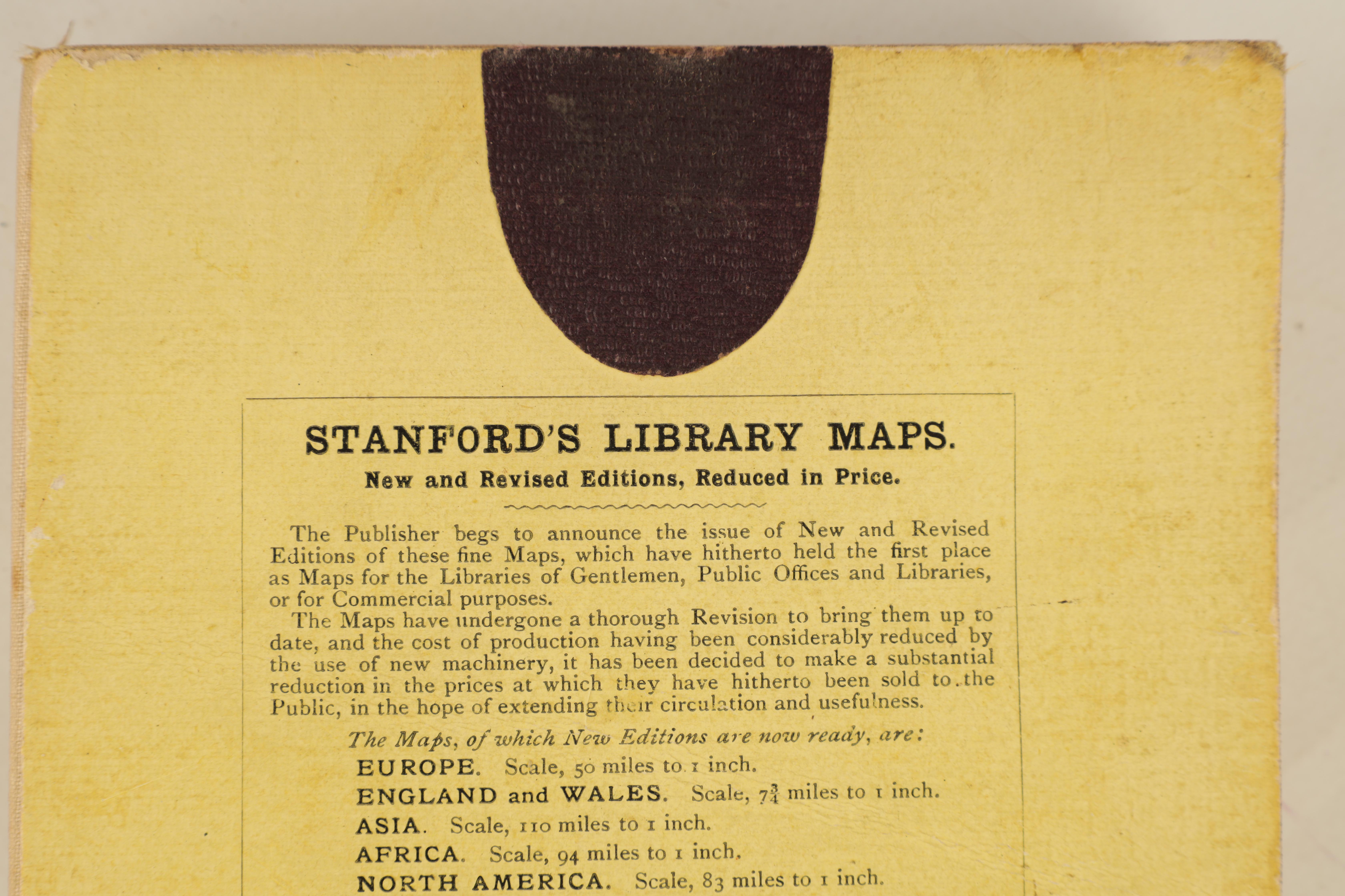 A STANFORDS MAP OF AFRICA - Image 3 of 9
