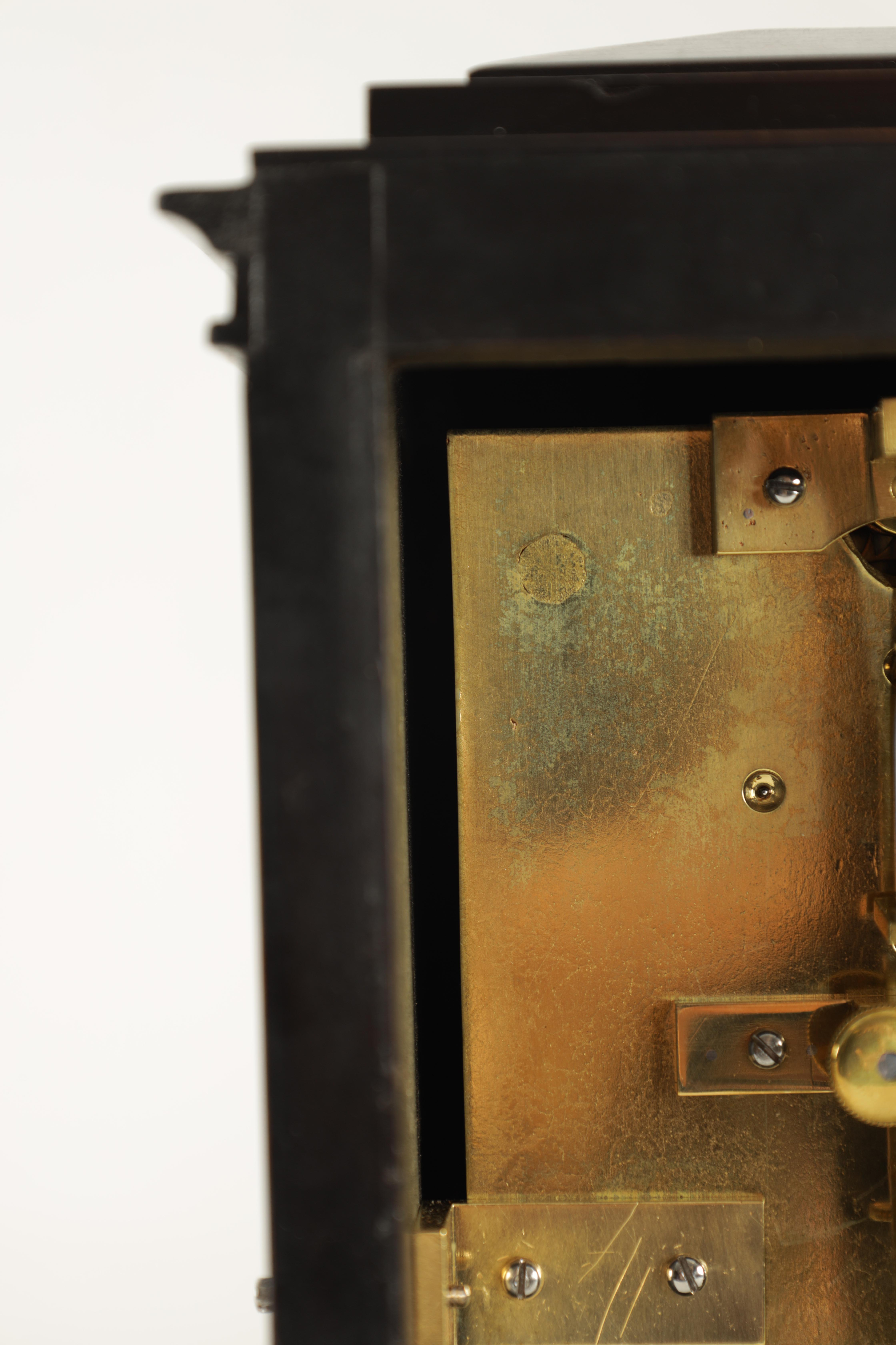 BARRAUDS & LUND, CORNHILL, LONDON. 1549 A FINE EARLY 19TH CENTURY REGENCY EBONISED ENGLISH FUSEE - Image 8 of 8