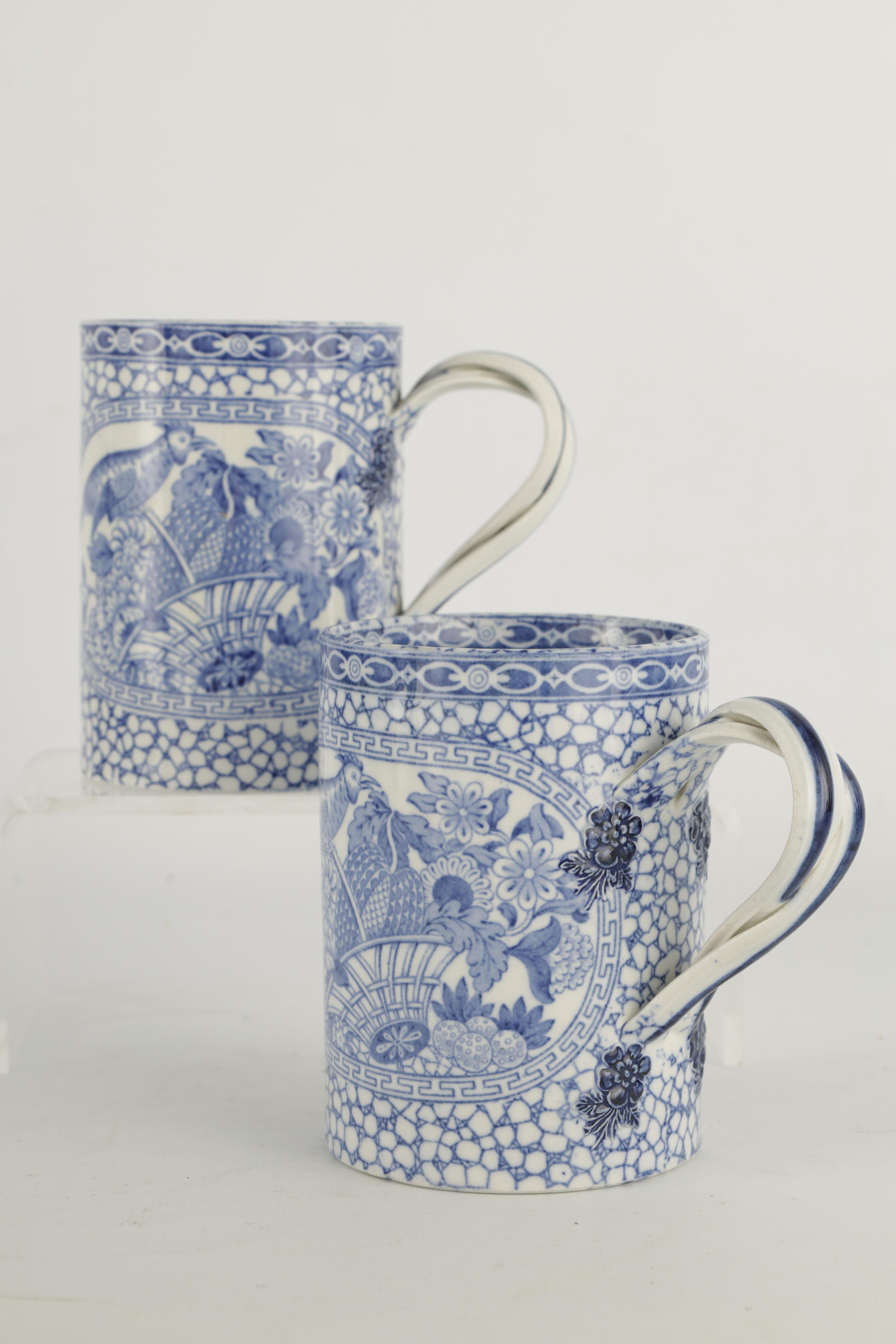 A 19TH CENTURY PEARLWARE JUG WITH RELIEF MOULDED PANELS OF LORD WELLINGTON AND GENERAL HILL on a - Image 13 of 17