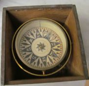 A compass in box