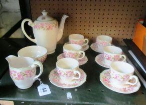 A Wedgwood Blossom coffee set