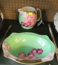 A Grays pottery bowl and jug