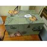 A 1980s Rolex Box