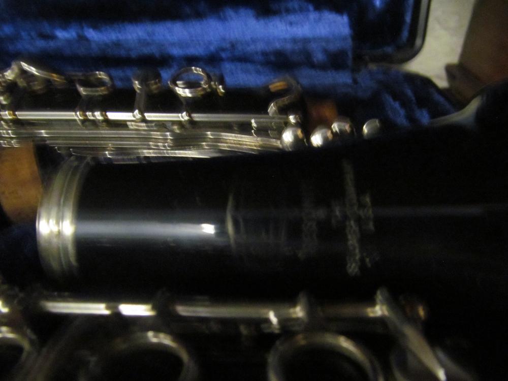 A Bundy Resonite Selmer clarinet (i.c) - Image 2 of 2