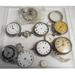 Some pocket watches (for spares) and some minor watches