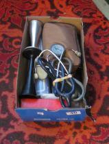 Some medical equipment stethoscope et cetera