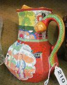Two Chinese vases and Masons jug