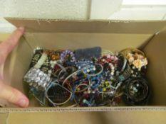 A box of bracelets
