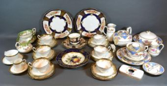 A Hammersley Breakfast Set together with other related ceramics