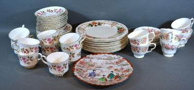 A Colclough Wayside Pattern Tea Service together with other ceramics