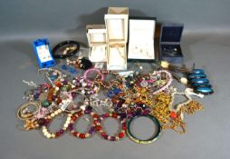 A Collection of Jewellery to include a Kit Heath necklace and a pair of earrings and various other