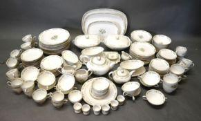 A Bavarian Porcelain Extensive Tea and Dinner Service