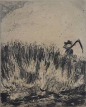Marc Chagall Etching 30 x 25 cms