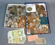 A British and Foreign Coin Collection to include Bank Notes
