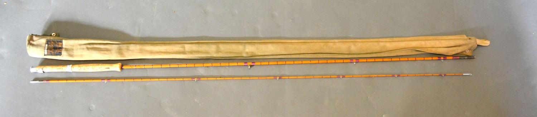 The J.J. Triumph Palakona split cane fly fishing rod by Hardy Brothers Limited