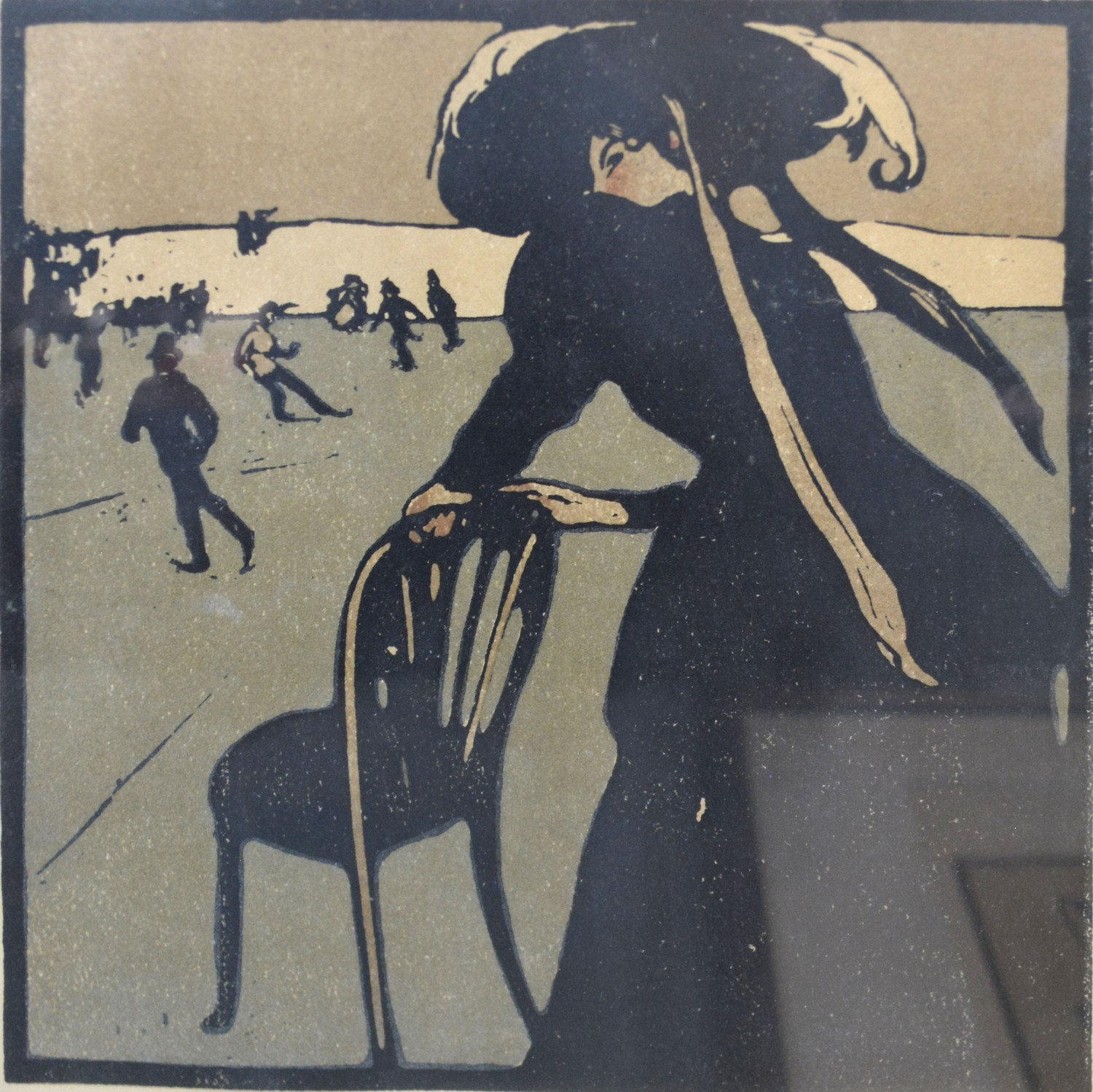 Sir William Nicholson A Group of Three Lithographs from The Almanac of Twelve Sports to include Golf - Image 3 of 4