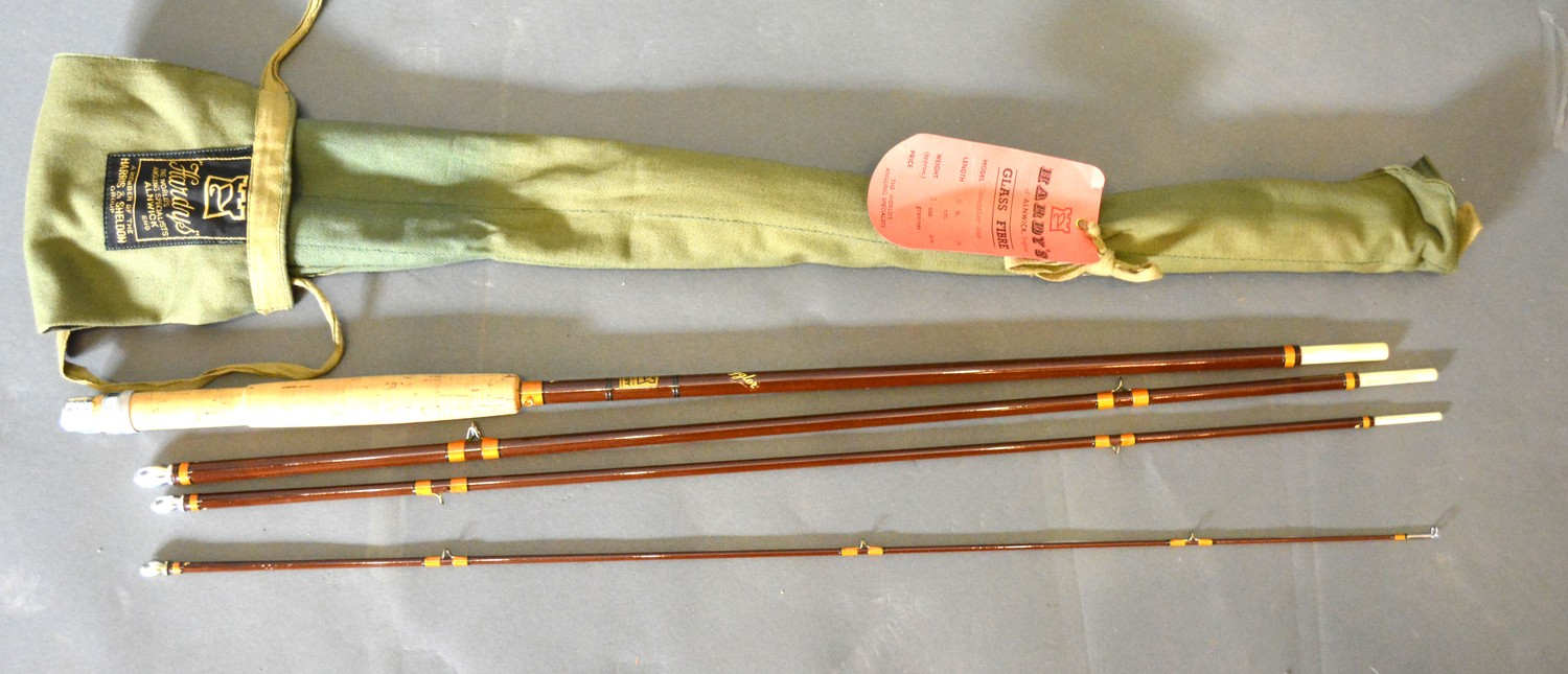 The Smuggler fishing rod from The House of Hardy