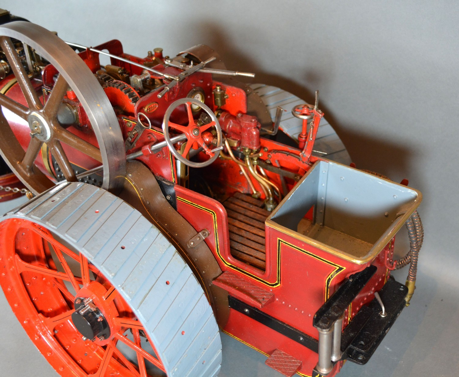 William Allchin, agricultural scale model live steam traction engine, The Royal Chester, 62cms long - Image 3 of 5