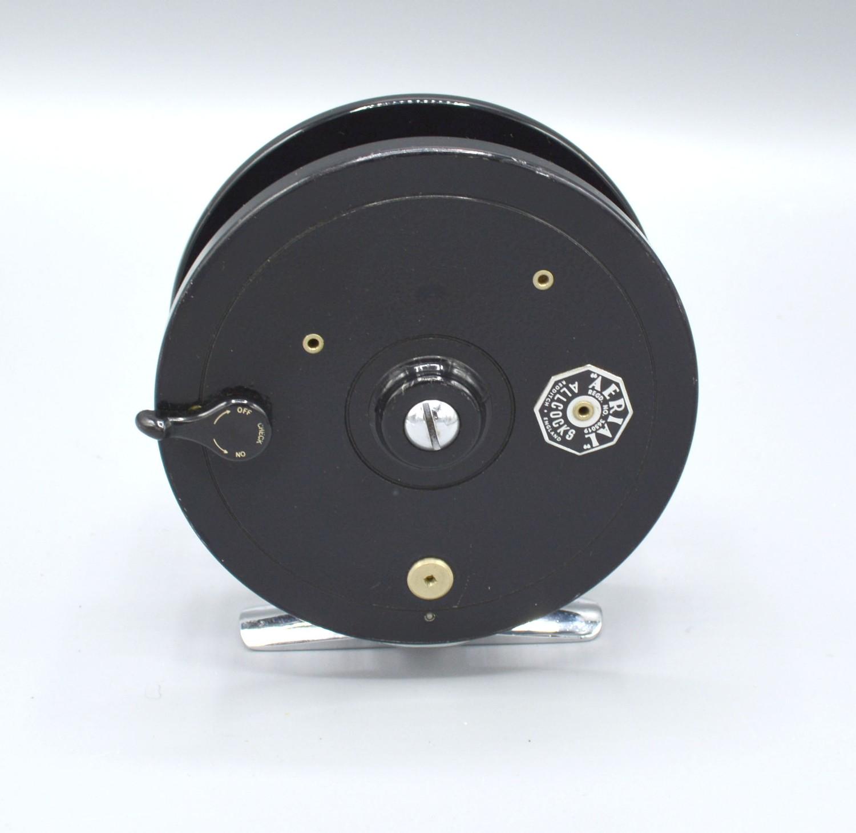 An Allcocks Aerial fishing reel, 9.5cms diameter - Image 2 of 2