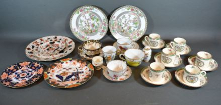 A Set of Six Copeland Spode Coffee Cans and Saucers, together with other ceramics