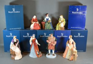 A Royal Doulton Figure 'King Henry VIII' HN number 3458 modelled by Pauline Parsons number 1828 from