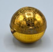 A Compact in the form of a Globe by Pygmalion