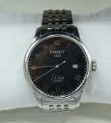 A Tissot Le Locle Automatic Stainless Steel Cased Gentleman's Wrist Watch with original box