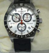 A Tissot PRS 516 Quartz Chronograph Gentleman's Wrist Watch with original box
