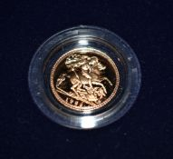 Gold Proof Half Sovereign 1982, Royal Mint, Boxed.