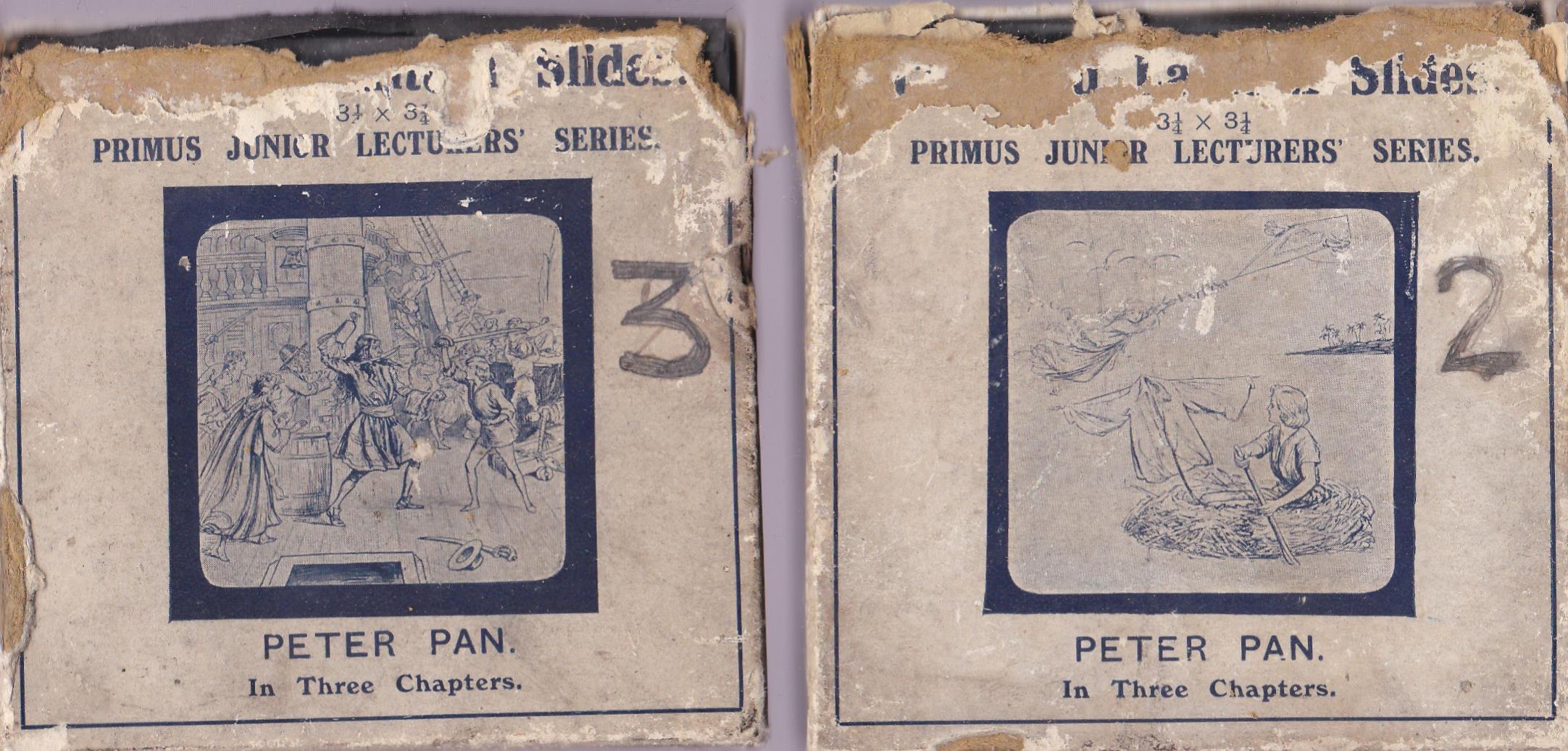 Peter Pan Magic Lantern Coloured slides, Primus Junior Lecturers series Peter Pan Magic Lantern - Image 4 of 4