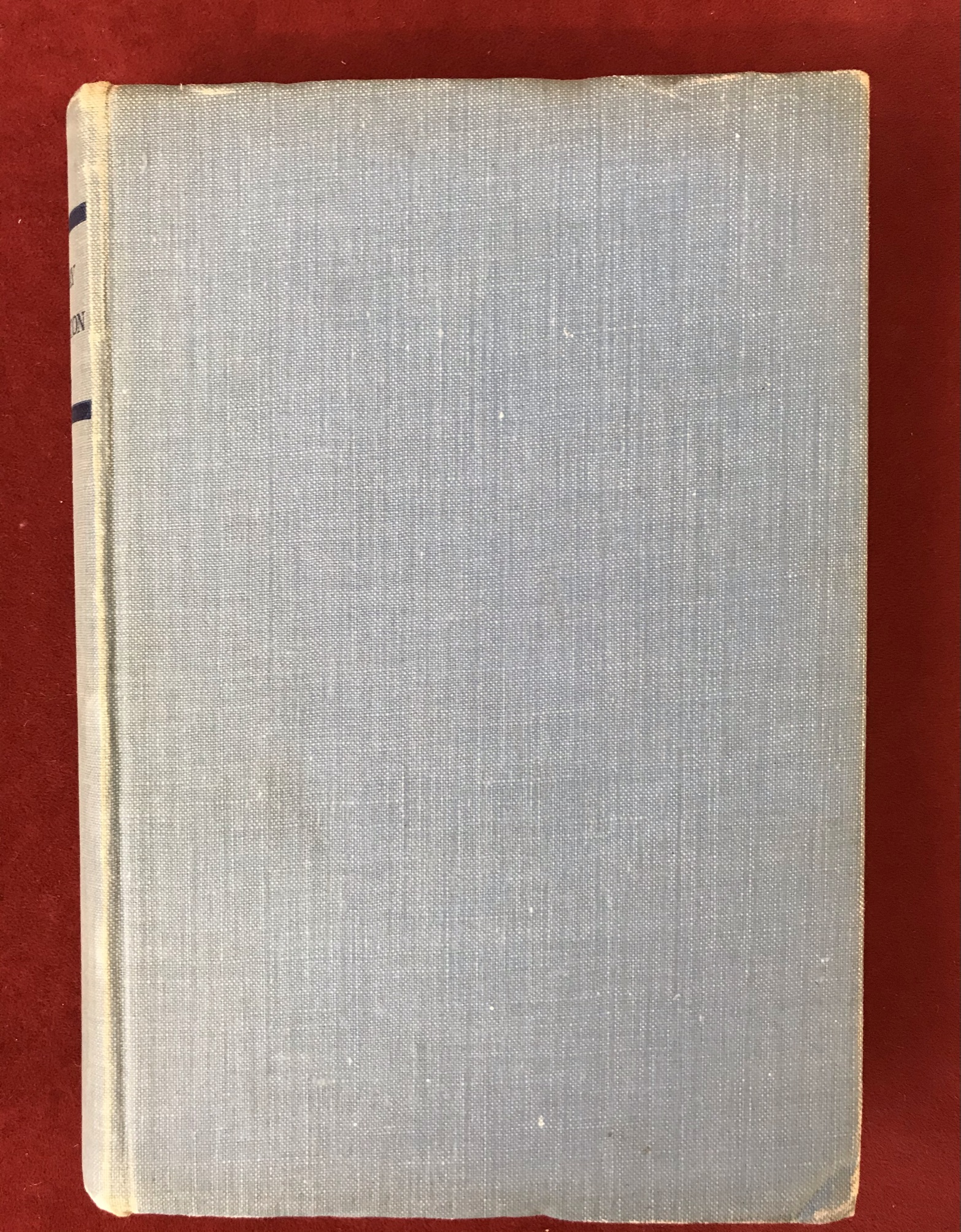 The Anatomy of FrustrationFirst edition no D/W, 1936