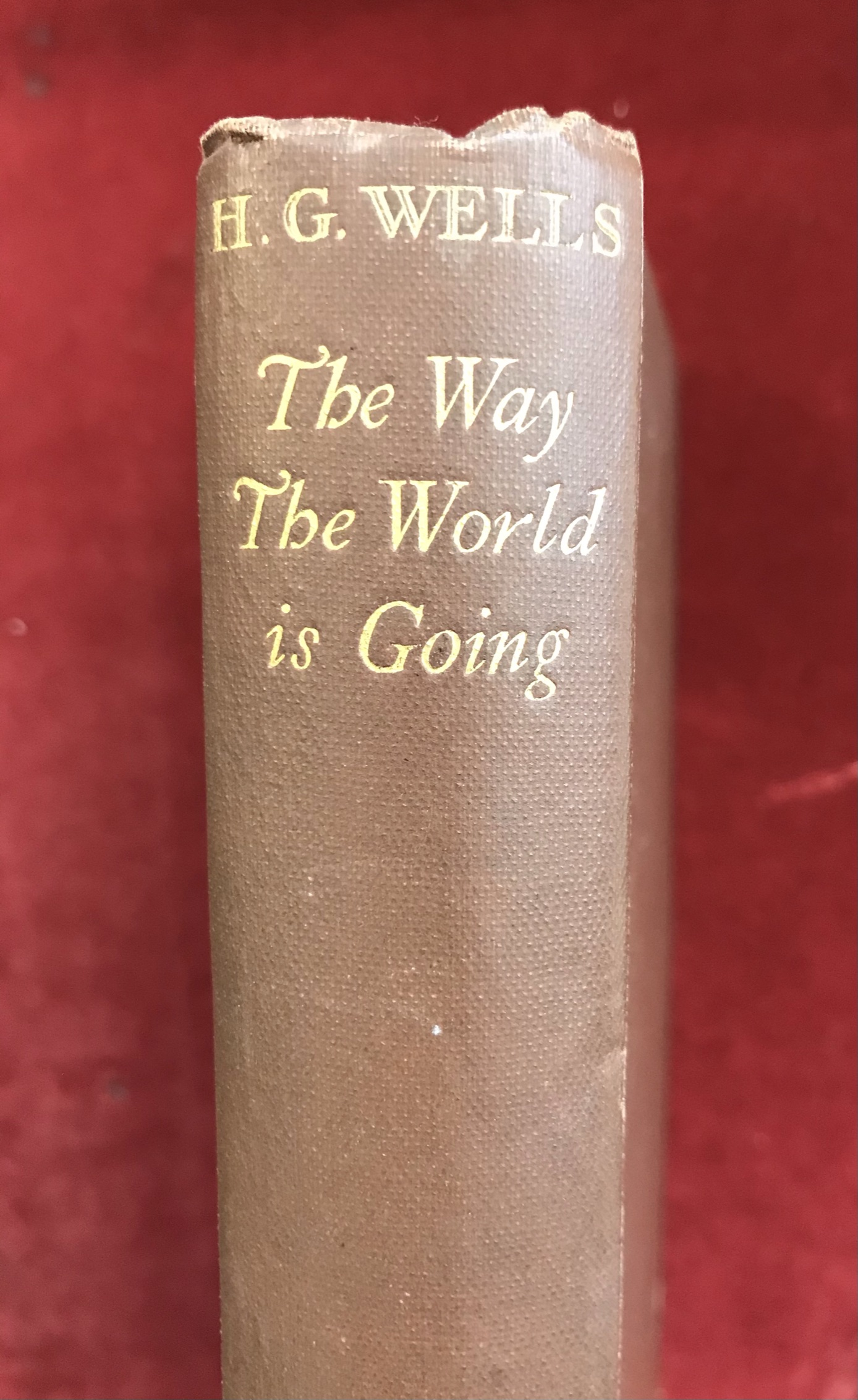 The Way the World is GoingFirst edition, 1928