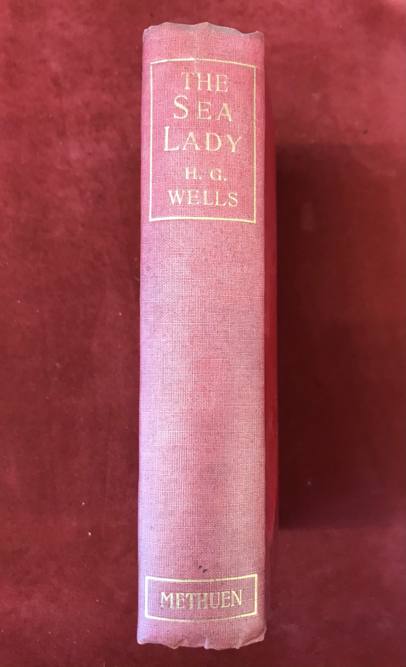 The Sea Ladyby H.G. Wells, First edition, 'later issue' 1902 - Image 2 of 3