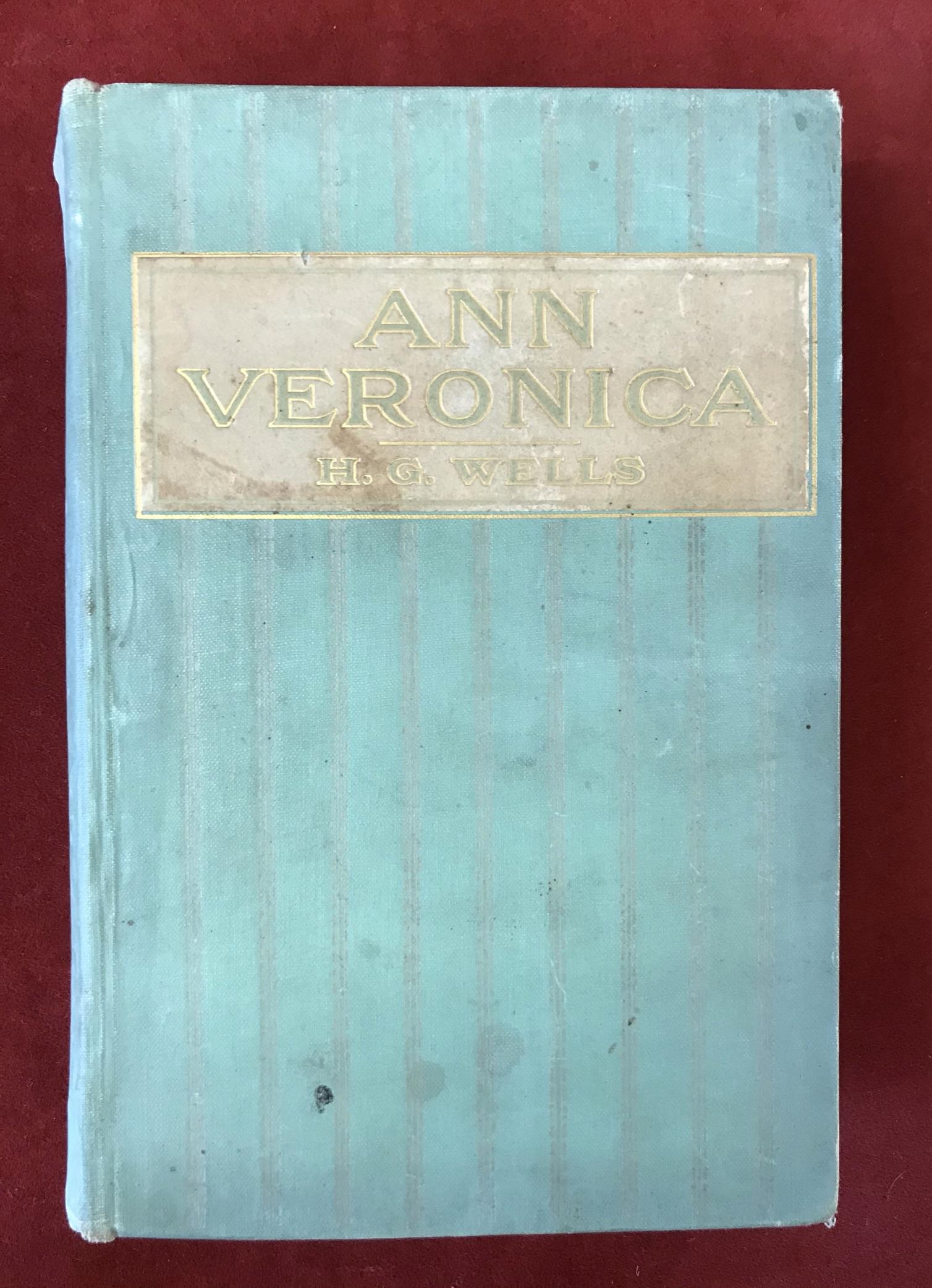 Ann VeronicaFirst U.S. edition, 1909