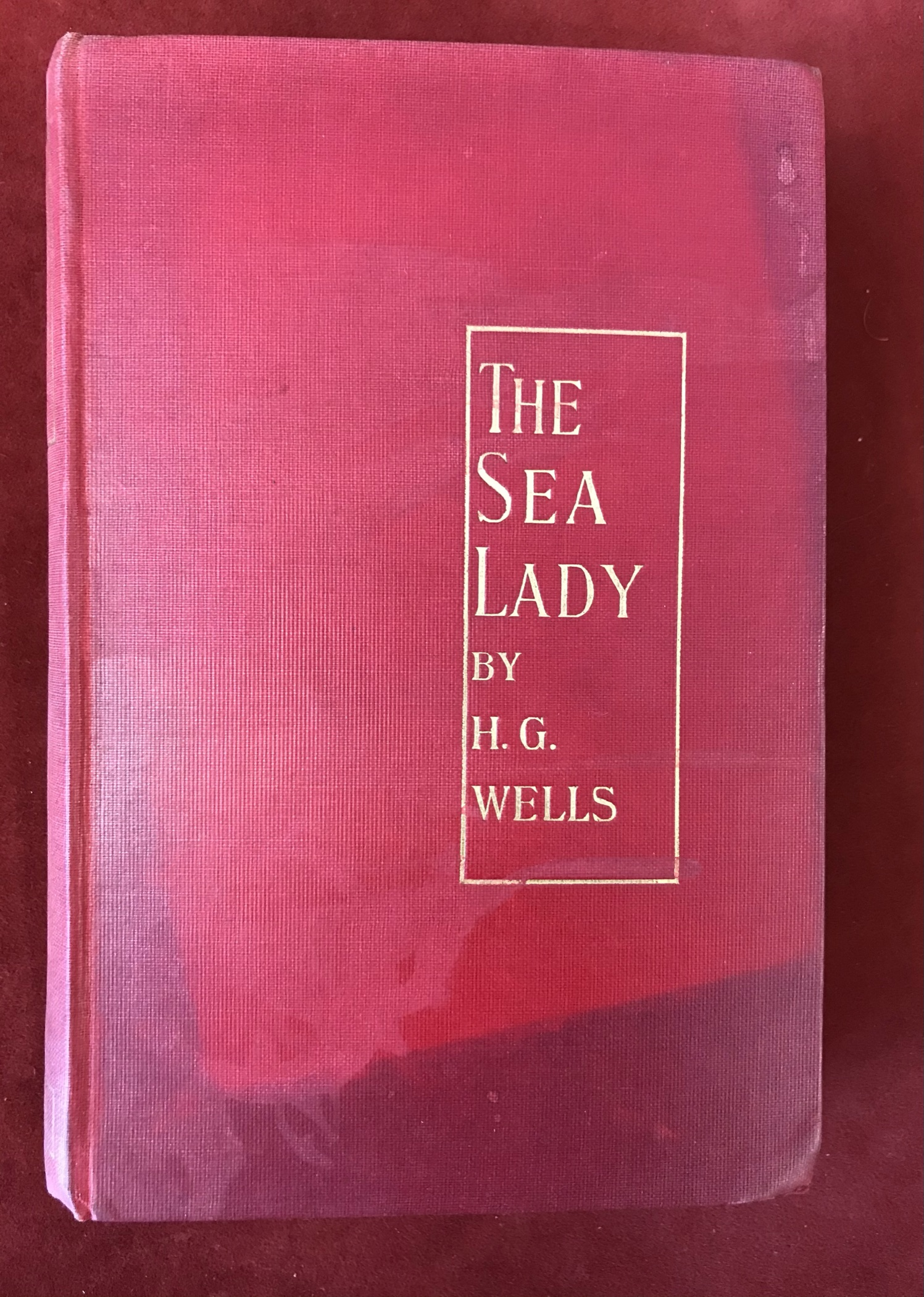 The Sea Ladyby H.G. Wells, First edition, 'later issue' 1902