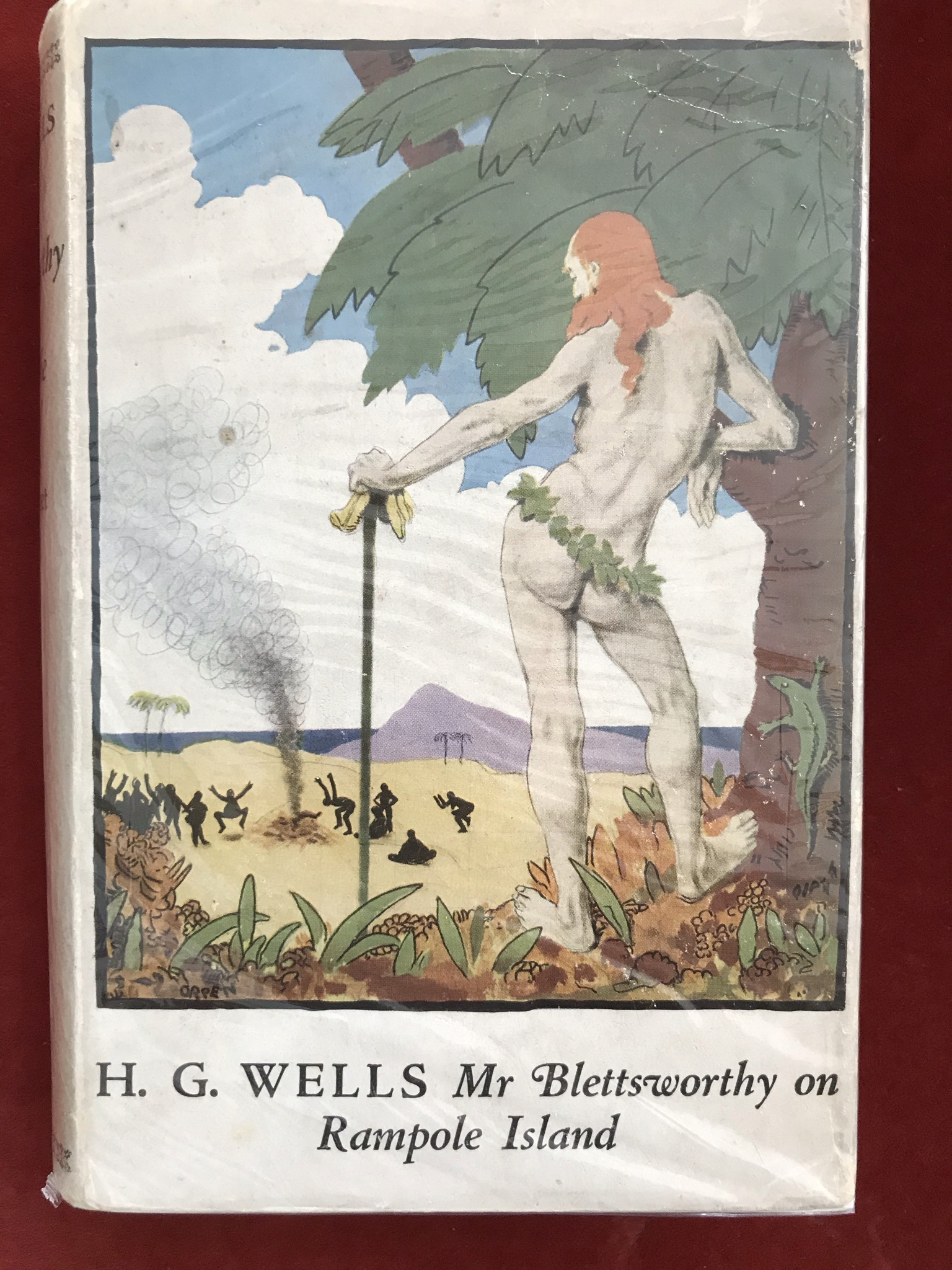 Mr. Blettsworthy on Rampole Island First edition with D/W, foxed edges, 1928