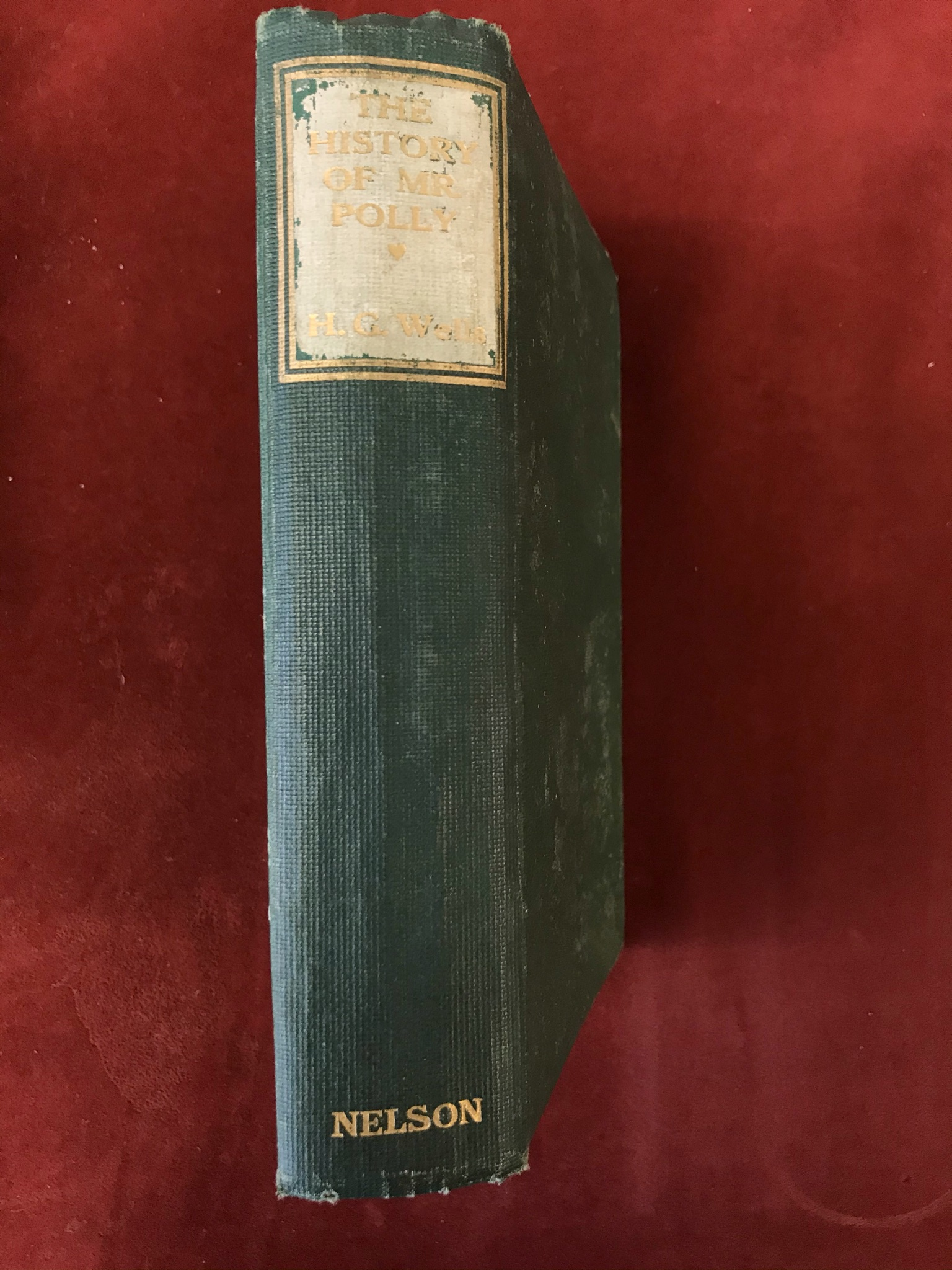 The History of Mr. PollyFirst edition, no D/W, flaked spine, 1910 - Image 2 of 3