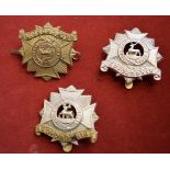 Bedfordshire Regiment WWI Forage Cap Badge (Bi-metal), slider. K&K: 610-Bedfordshire Regiment WWI